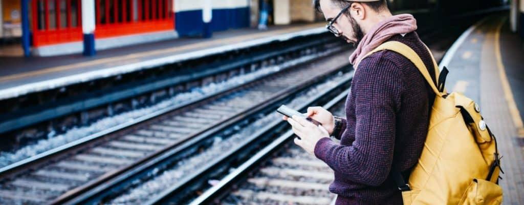 Træt af dårligt internet når du kører i tog?